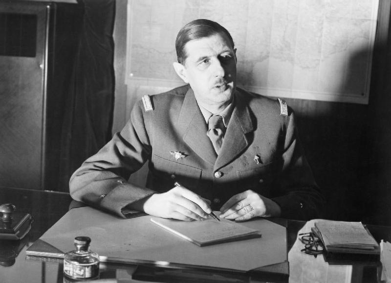 Portraits Google de Charles de Gaulle par les STL1